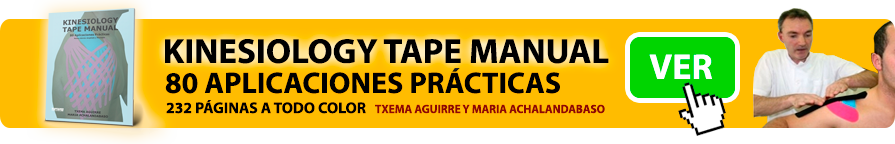 Kinesiology tape manual - 80 aplicaciones prácticas