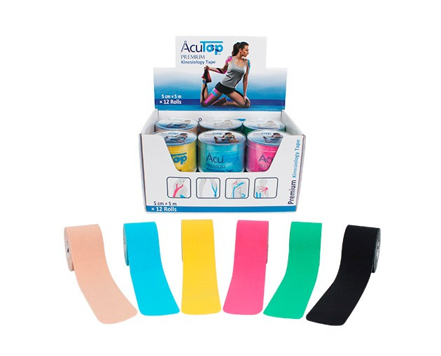 acutop kinesiology tape premium pack