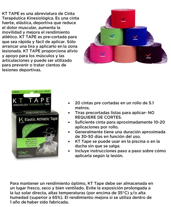 kt tape - kinesiology tape